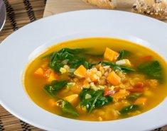 Σούπα φακές με λαχανικά - Images