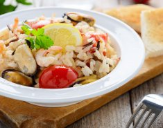 Ρύζι με θαλασσινά - Images