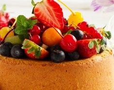 Τάρτα με γλυκιά κρέμα και φρούτα εποχής - Images