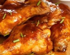 Μπουτάκια κοτόπουλου γλασαρισμένα με μέλι & μουστάρδα - Images