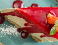 Cheese cake φράουλας  - Images