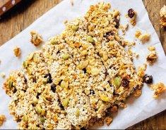 Παστέλι με βρώμη Mornflake, μέλι και ελαιόλαδο - Images