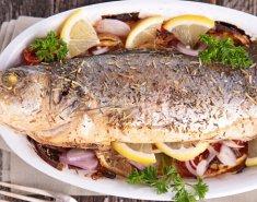 Ψάρι στο φούρνο με λαχανικά  - Images