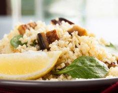 Σαλάτα με πλιγούρι & κόλιανδρο - Images