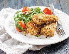 Φιλέτο ψαριού με κρούστα δημητριακών και βρώμη MORNFLAKE - Images