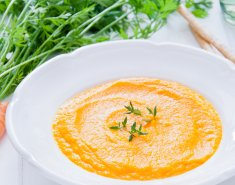 Καροτόσουπα με πορτοκάλι  - Images