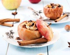 Ψητά μήλα με μαρμελάδα Stute χωρίς πρόσθετη ζάχαρη και αμύγδαλα - Images