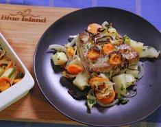 Τόνος Blue Island στο φούρνο με λαχανικά - Images