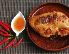 Πικάντικο κοτόπουλο με μέλι και σουσάμι  - Images