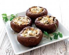 Μανιτάρια με φέτα και Κρόκο Κοζάνης - Images