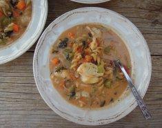 Ψαρόσουπα με λαχανικά - Images