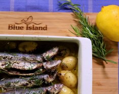 Σαρδελίτσες Blue Island με πατάτες λεμονάτες  - Images