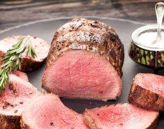 Ροστ μπιφ με σάλτσα θυμαριού και μουστάρδας - Images