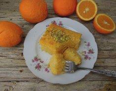 Ραβανί με πορτοκάλι - Images