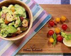Σαλάτα με αβοκάντο και γαρίδες Blue Island - Images