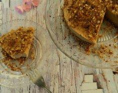 Vegan Cheesecake φουντουκιού με γεύση καφέ  - Images