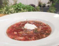 Παραδοσιακή σούπα Borscht από τη Ρωσία - Images