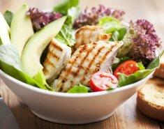 Κοτόπουλο με σάλτσα αβοκάντο  - Images