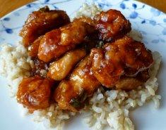 Γλυκόξινο κοτόπουλο - Images