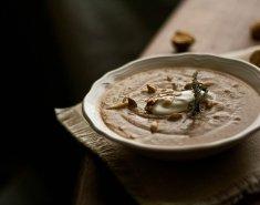 Σούπα βελουτέ με κάστανα  - Images