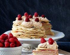 Κέικ με κρέπες και μαρμελάδα Βατόμουρο  - Images