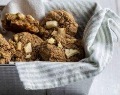 Μαλακά μπισκότα βρώμης με μήλο και κανέλα - Images