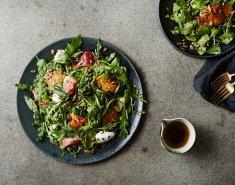 Γιορτινή σαλάτα με αχλάδι και προσούτο  - Images