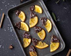 Πορτοκάλια με σοκολάτα  - Images