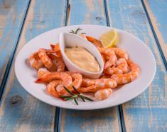 Γαρίδες με ρόζ sauce απο Foodsaver  - Images