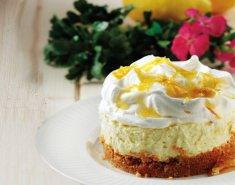 Cheesecake με ανθότυρο και λεμόνι - Images