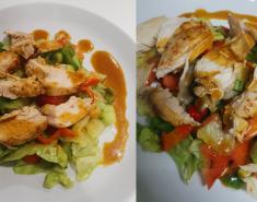 Δροσιστική, ελαφριά σαλάτα με κοτόπουλο - Images