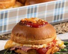 Burger croque monsieur - Images