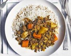 Μοσχαράκι Curry - Images