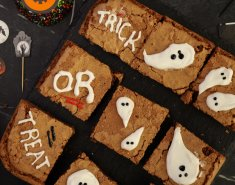Halloween brownies με φυστικοβούτυρο - Images