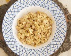Φιογκάκια με σολομό και κρέμα μουστάρδας - Images