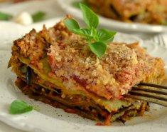 Χορτοφαγικά λαζάνια με μελιτζάνες - Images