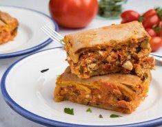Ελαφριά ντοματοτυρόπιτα με ζύμη γιαουρτιού - Images