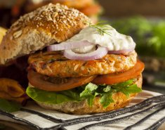 Fish Burger της Blue Island  - Images