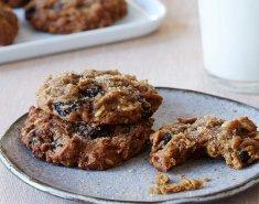 Μπισκότα με κολοκύθα και σταφίδες - Images