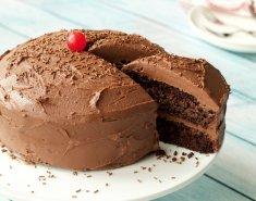 Κέικ σοκολάτας με γκανάζ  - Images