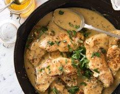 Χοιρινό με σάλτσα μουστάρδας  - Images