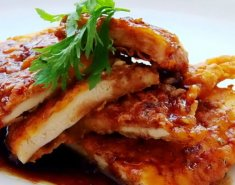 Κοτόπουλο με σος από μέλι  - Images
