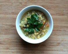 Σούπα φάβα με κινόα  - Images