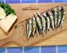 Σαρδέλες Blue Island γεμιστές με μαραθόριζα και παρμεζάνα  - Images