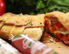 Νόστιμο Pizza Roll με Σαλάμια Γρηγορίου. - Images