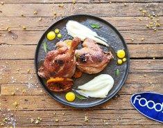 Πόδι Πάπιας με σάλτσα από Πορτοκαλί - Images