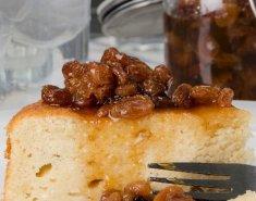 Κέικ ανθότυρου με γλυκό κουταλιού σταφίδα - Images