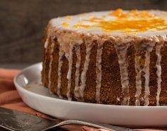 Νηστίσιμο κέικ με ταχίνι με πορτοκάλι - Images
