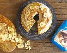 Κέικ Μπανάνας με Γλάσο Καραμέλας - Images