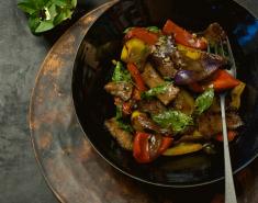 Κινέζικο μοσχαράκι με πιπεριές  - Images